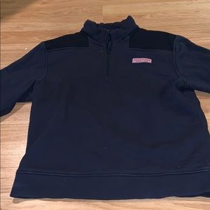 Vineyard Vines Shep Shirt/ Half Zip